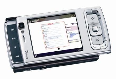 """Internet - """"firmowo"""" N95 współpracuje z wyszukiwarką Yahoo! /AFP"""