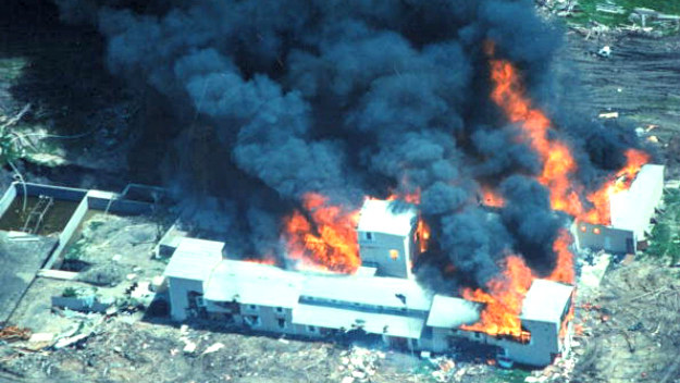 Internet nie traktuje bojówkarzy poważnie. Biorąc jednak pod uwagę wydarzenia z Waco z 1993 r. należy spodziewać się wszystkiego... /Getty Images/Flash Press Media