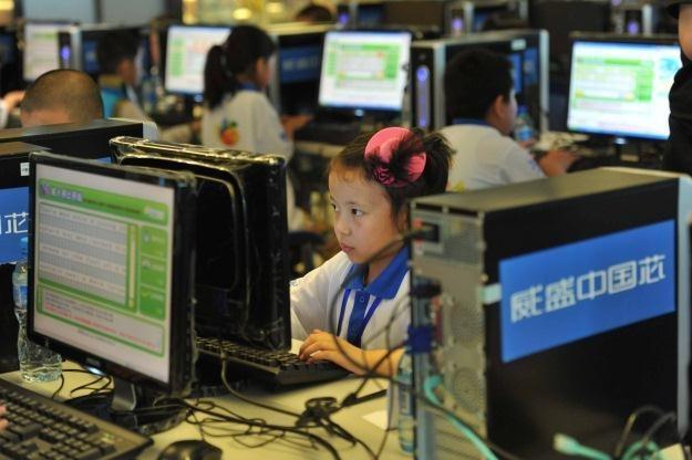 Internet w Chinach to ponad 550 mln ludzi (!) - ale nie ma mowy o wolnym dostępnie do sieci /AFP