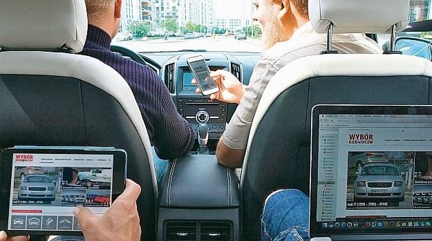 internet w samochodzie /Motor