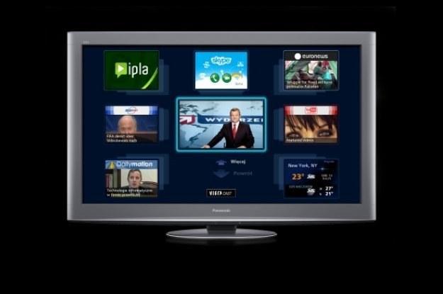 Internet w telewizji - powoli staje się standardem /materiały prasowe