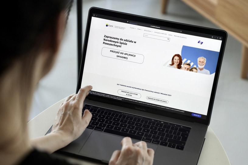 Internetowa aplikacja spisowa przygotowana przez Główny Urząd Statystyczny / Jakub Kamiński    /East News