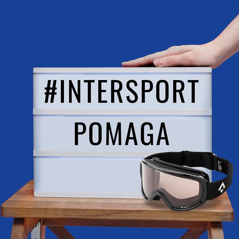 Intersport przekazał krakowskim szpitalom gogle, które firma miała w asortymencie /materiały prasowe