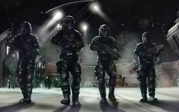 Interstellar Marines - motyw graficzny /Informacja prasowa