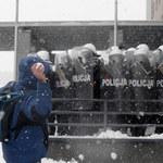 Interwencja podczas manifestacji górników. Policja nie przekroczyła uprawnień