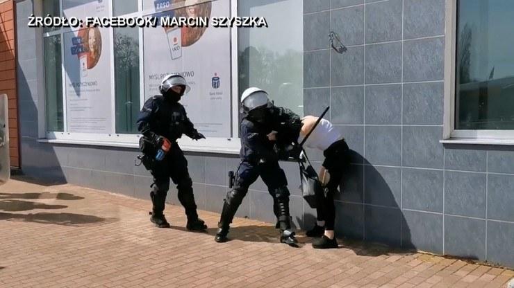 Interwencja policji w Głogowie /Polsat News /Polsat