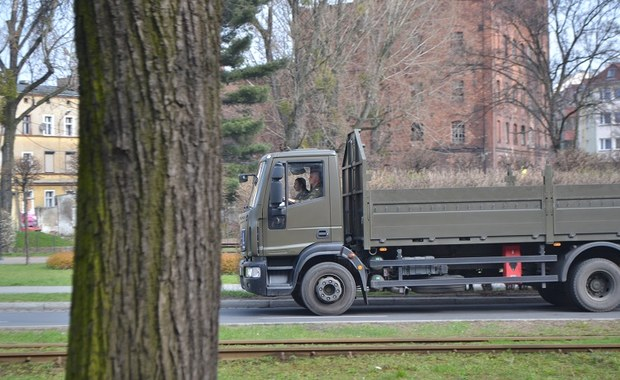 Interwencja RMF FM: Wojskowe ciężarówki nie będą blokować ruchu w Grudziądzu