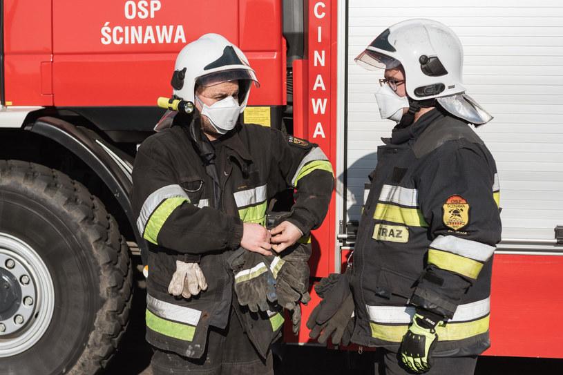 Interwencje straży pożarnej, zdjęcie ilustracyjne /P.Dziurman /Reporter