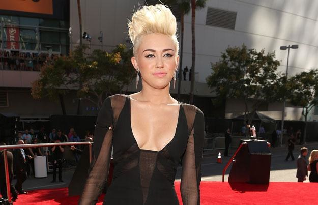Intruz chciał poznać Miley Cyrus fot. Christopher Polk /Getty Images/Flash Press Media