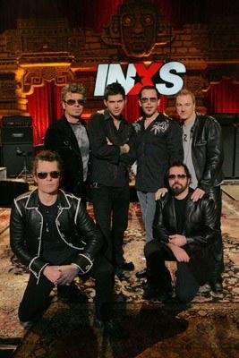 INXS w nowym składzie /Sony BMG