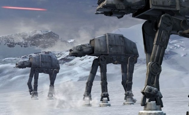 Inżynierowie inspirują się także filmami - na grafice widać fikcyjny pojazd bojowy ze świata Gwiezdnych wojen /materiały prasowe