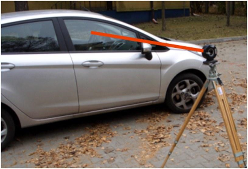 Inżynierowie z WAT mają sposób na pijanych kierowców - laser (Fot. WAT) /materiały prasowe
