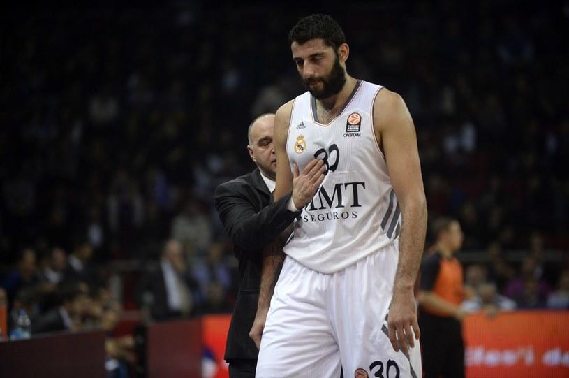 Ioannis Bourousis z Realu Madryt /AFP