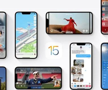iOS 15 w iPhonie 13 - kiedy? Jakie zmiany?