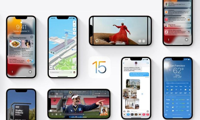 iOS 15 /materiały prasowe