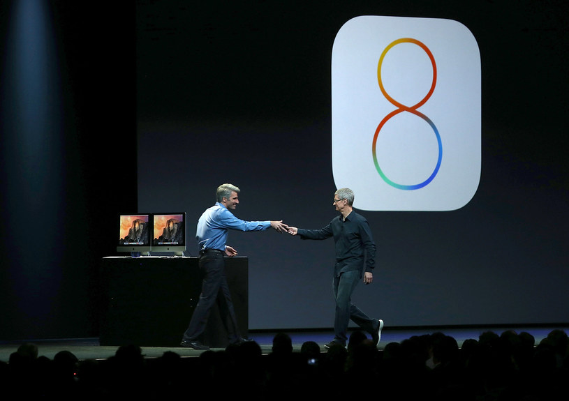 iOS 8 wnosi sporo zmian do mobilnego systemu Apple /AFP