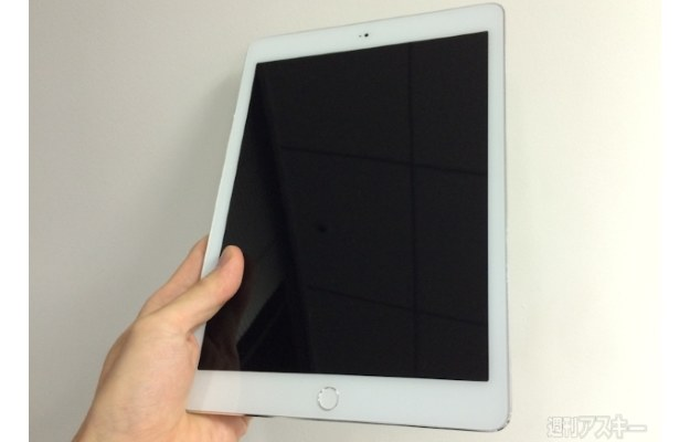 iPad Air 2.  Fot. ascii.jp /materiały prasowe