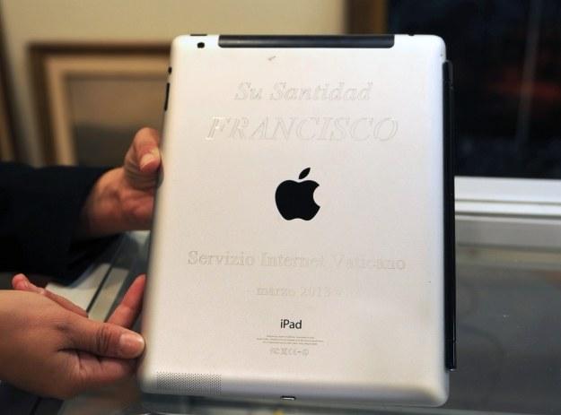 iPad papieża Franciszka /AFP