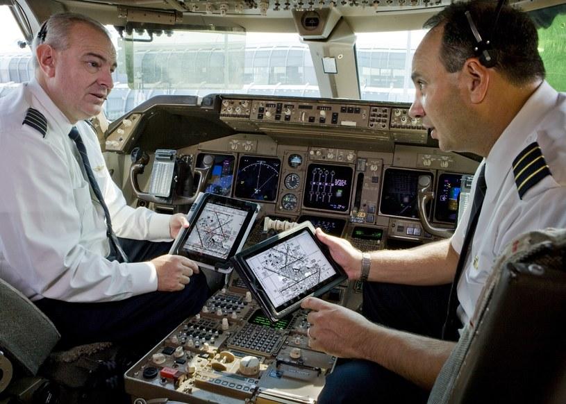 iPady są obecne w kokpitach wielu samolotów pasażerskich (Fot. United Continental) /materiały prasowe
