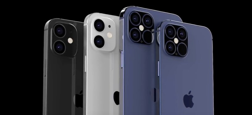 iPhone 12 i 12 Pro - render / fot. PhoneArena /materiał zewnętrzny