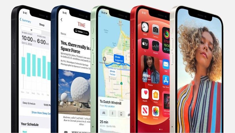 iPhone 12 w nowych kolorach /materiały prasowe