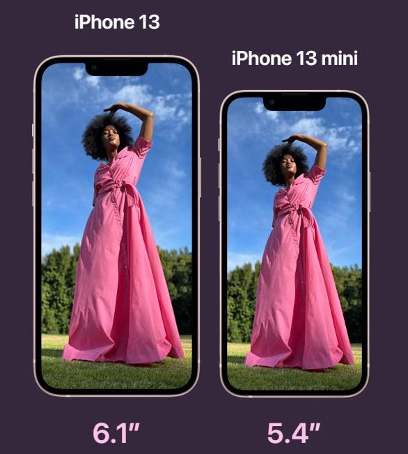 iPhone 13 i iPhone 13 mini /materiały prasowe