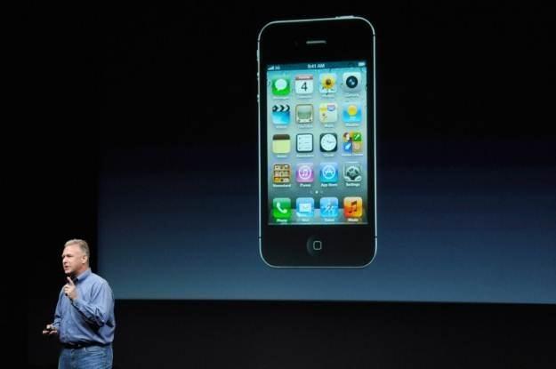 iPhone 4S - nowy smartfon Apple. Dwa razy szybszy niż jego poprzednik /AFP