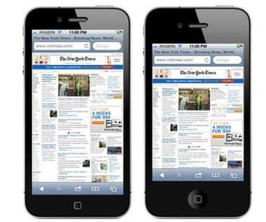 iPhone 5 z ekranem 1136 na 640 pikseli?