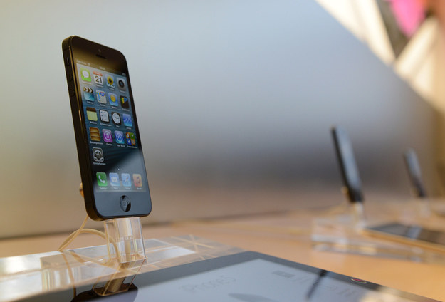 iPhone 5 /AFP