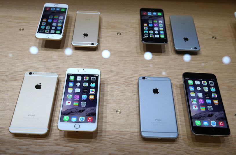 iPhone 6 i iPhone 6 Plus - 24 października w Polsce /AFP