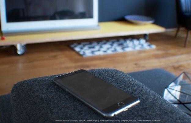 iPhone 6 - jeden z konceptów.  Fot. Martin Hajek /materiały prasowe