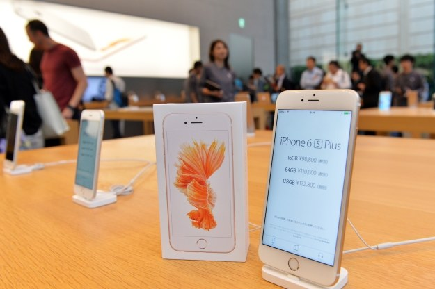 iPhone 6s Plus /AFP