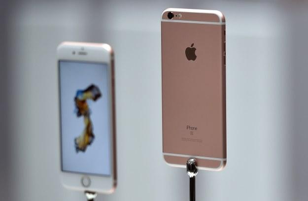 iPhone 6s /AFP