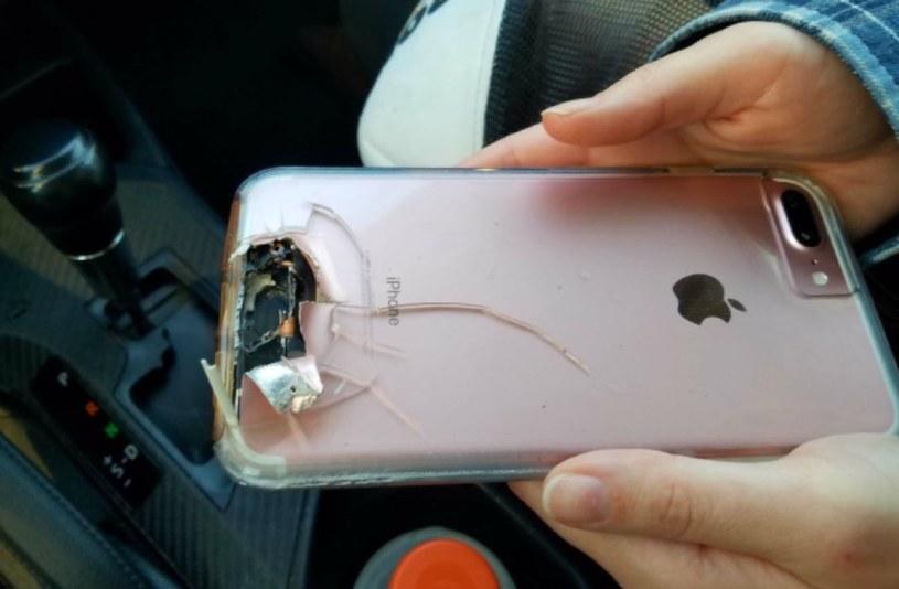 iPhone uszkodzony przez kulę podczas zamachu w Las Vegas /materiały prasowe