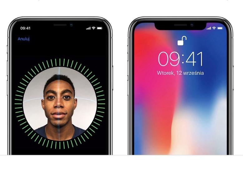 iPhone X to jedyny smartfon Apple wyposażony w Face ID /materiały prasowe