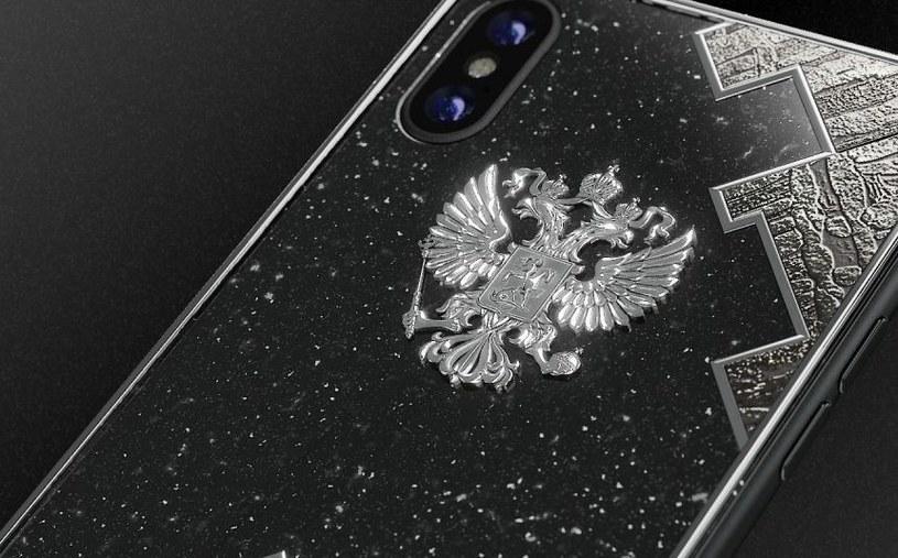 iPhone X wykończony meteorytem kosztuje w przeliczeniu ponad 16 tysięcy złotych /materiały prasowe