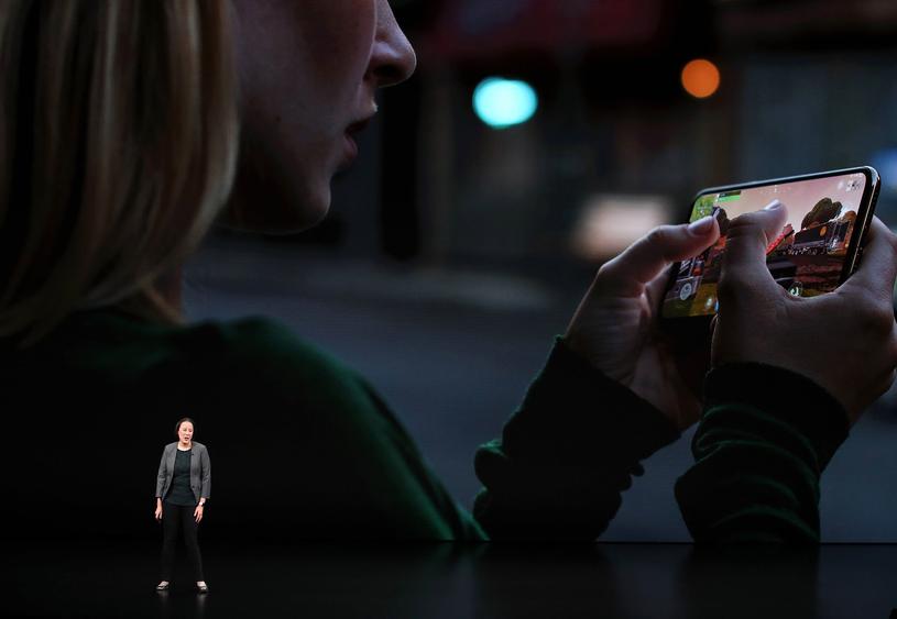 iPhone XS /AFP
