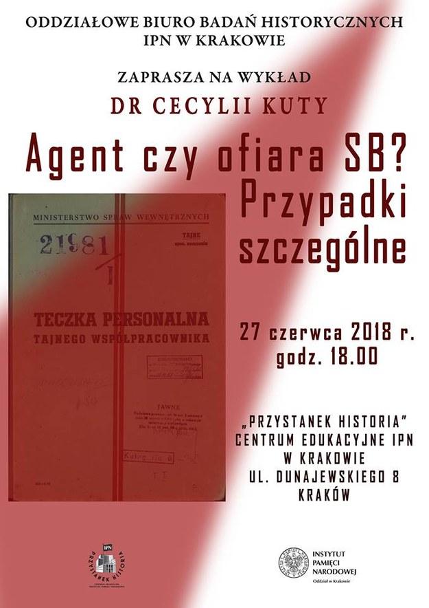 IPN zaprasza na wykład dr Cecylii Kuty /IPN