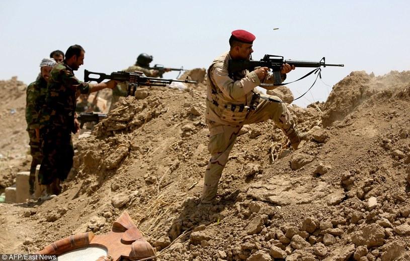 Iraccy żołnierze, zdj. ilustarcyjne /AHMAD AL-RUBAYE /East News