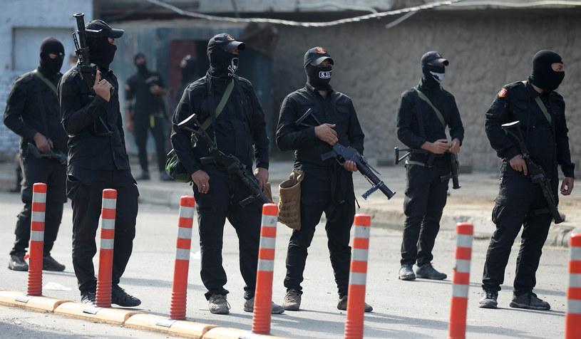 Iracie siły bezpieczeństwa, zdjęcie ilustracyjne /AFP