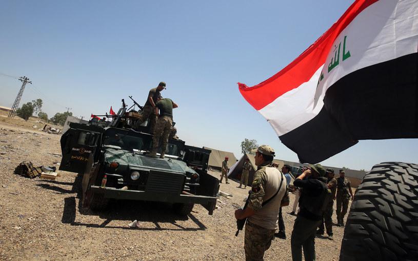 Iracka armia rozpoczęła operację odbicia Faludży z rąk Państwa Islamskiego /AHMAD AL-RUBAYE /AFP