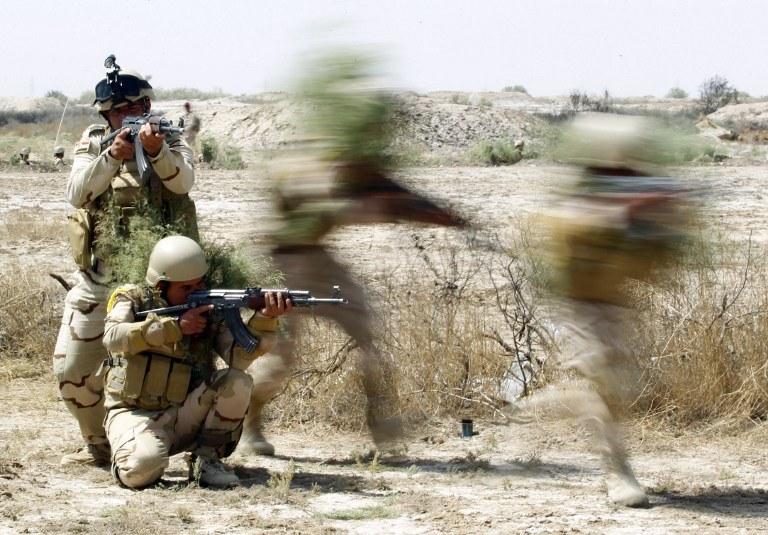 Irackie siły rządowe, zdj. ilustracyjne /Haidar Hamdani /AFP
