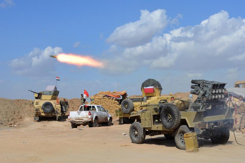 Irackie siły w północnej części prowincji Diyala /AFP