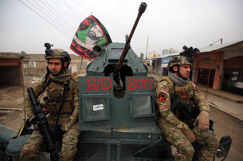 Irackie wojska na ulicach Mosulu /AHMAD AL-RUBAYE /AFP