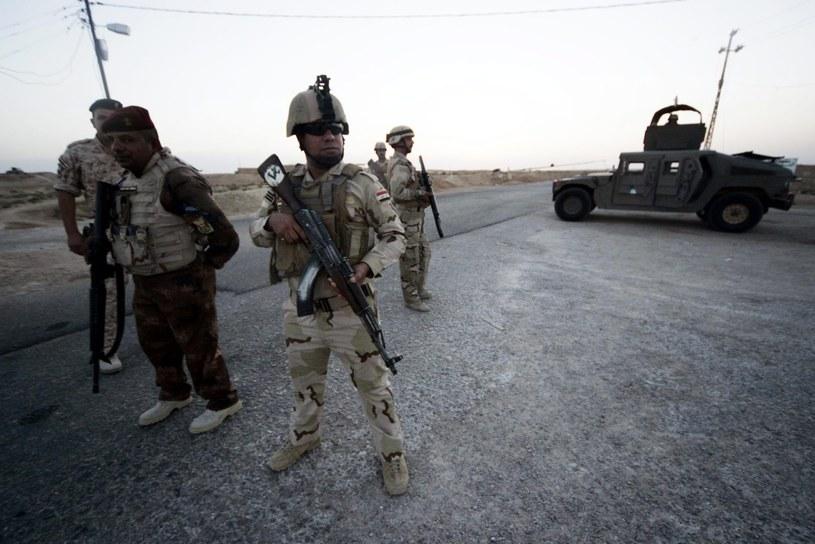 Irackie wojsko samo sobie nie poradzi? /PAP/EPA