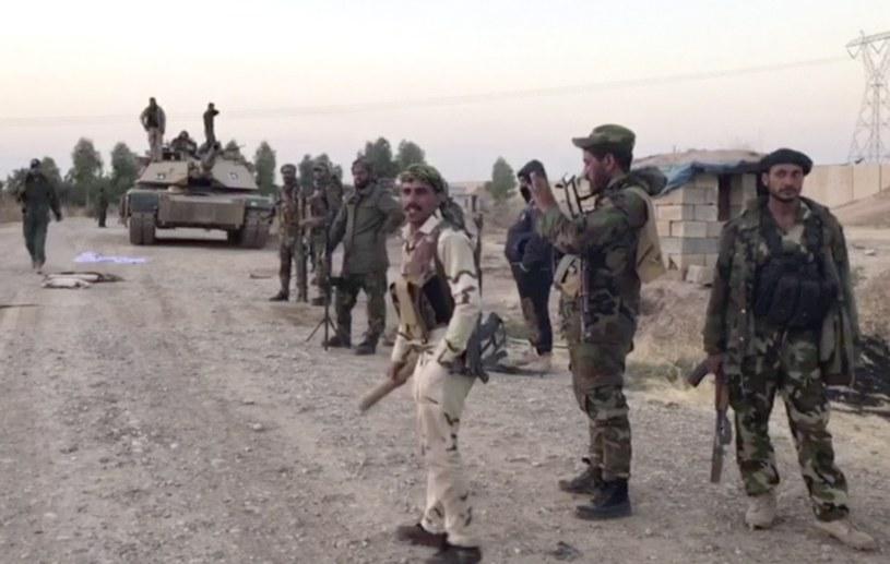 Irackie wojsko w Kurdystanie (zdj. ilustracyjne) /Associated Press /East News