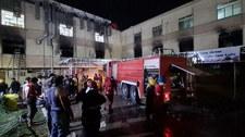 Irak: Eksplozja w szpitalu, gdzie leczono pacjentów z COVID-19