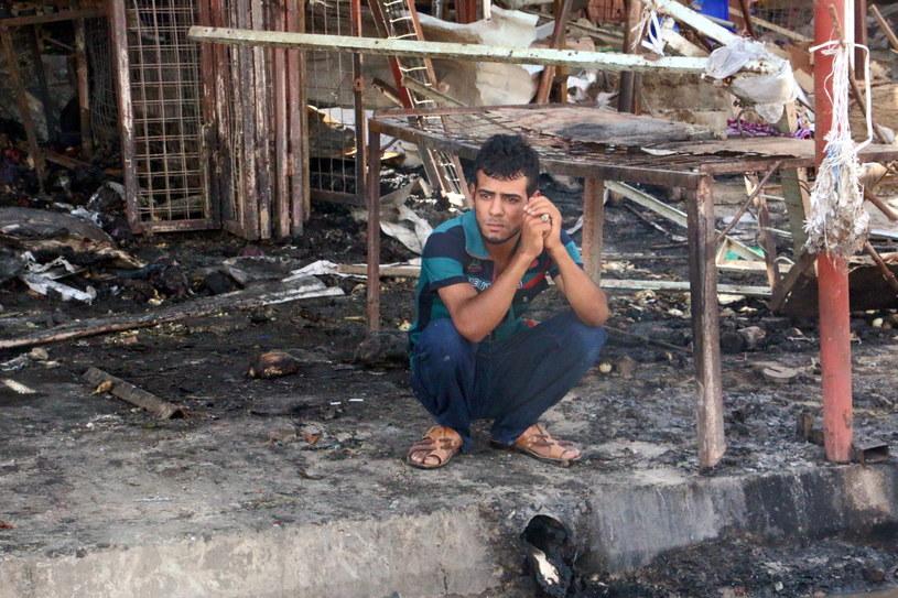 Irak wstrząśnięty zamachem - 120 zabitych i 130 rannych /PAP/EPA