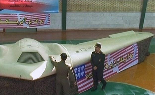 Iran chwali się przejętym RQ-170 /AFP