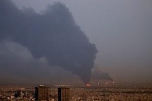 Iran: Płonie rafineria w Teheranie